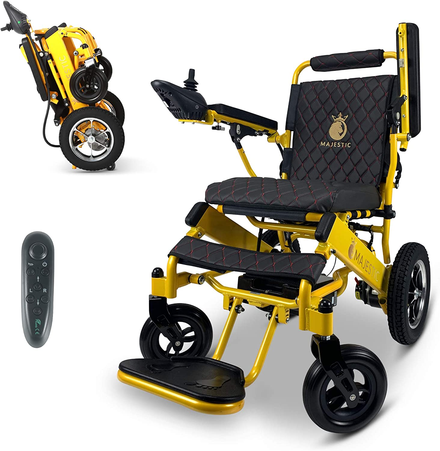 2021 New Lightweight Electric autumn and winter new Wheelchair Remote Ranking TOP1 - Electr Control