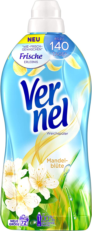 Vernel Almond Blossom Fabric Softener お得 国際ブランド WL 72 L -1.8