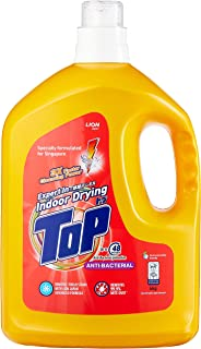 Top Concentrated Liquid Detergent, Anti-Bacterial, 4kg