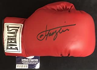 joe frazier autographed boxing glove