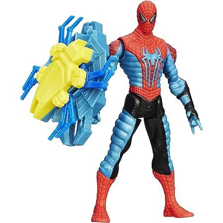 Spider Man Marvel Amazing Spider Man 2 Spider Strike Web Shield Spider Man Figure 3 75 Toys Games