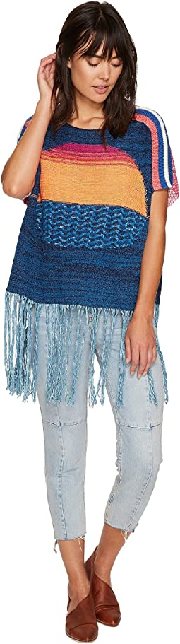 Sunset Fringe Sweater