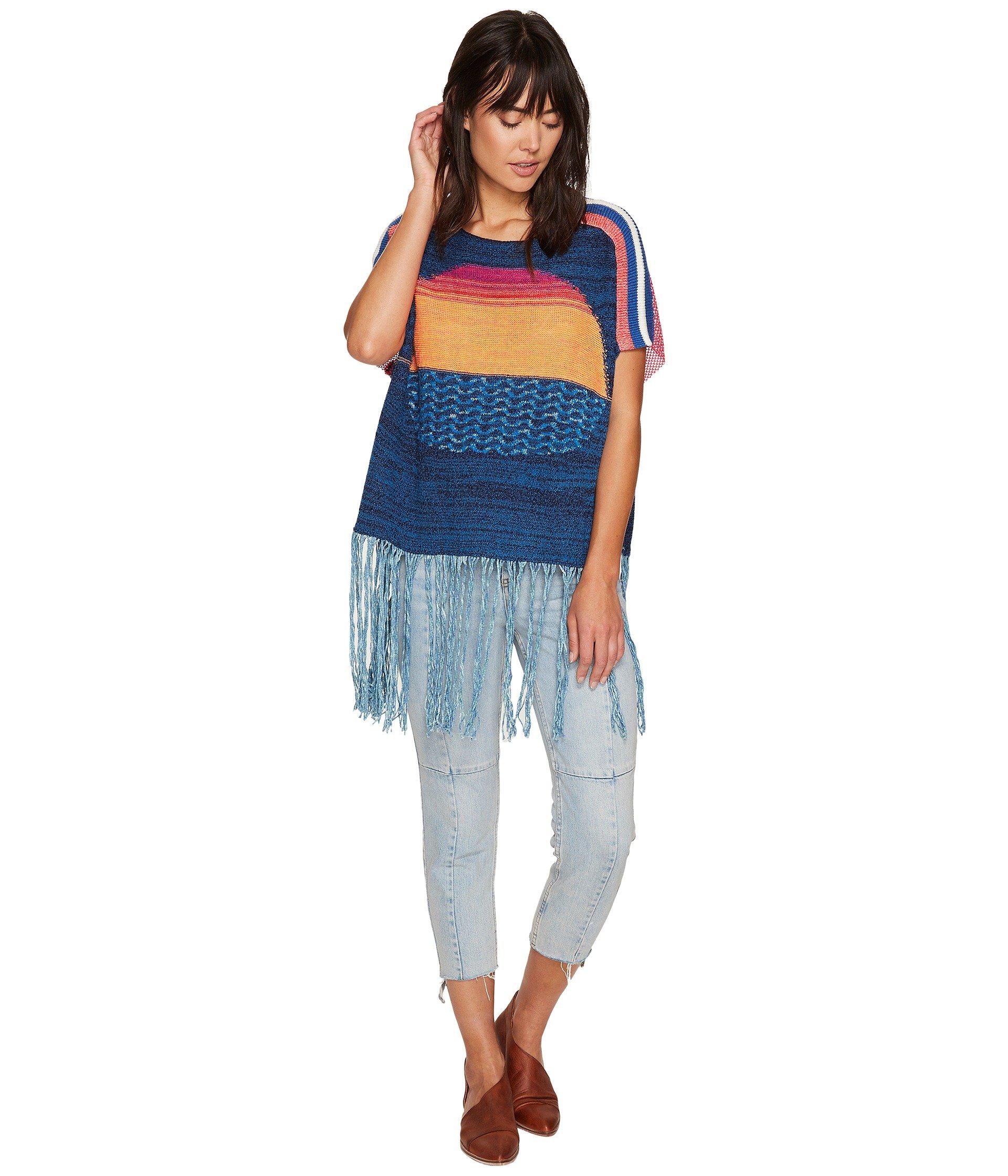 Sunset Fringe Sweater