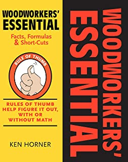 Woodworkers' Essential Facts, Formulas & Short-Cuts: Rules of Thumb Help Figure It Out, With or Without Math (Fox Chapel Publishing)