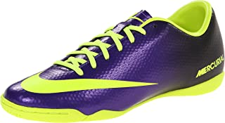NIKE Mens Mercurial Victory IV Indoor Soccer Cleat Electro