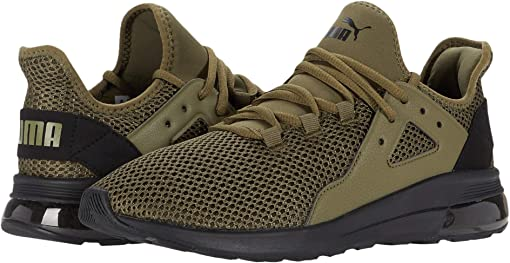 Burnt Olive/Puma Black