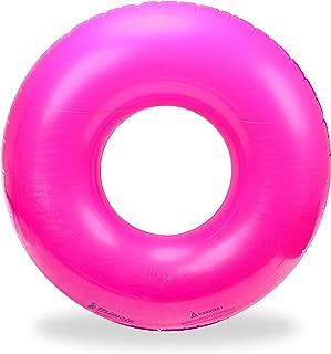 Mimosa Inc Inflatable Premium Quality Giant Round Tube Pool Float
