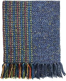 100% Merino Wool Scarf, Aran Luxury Woven in Ireland