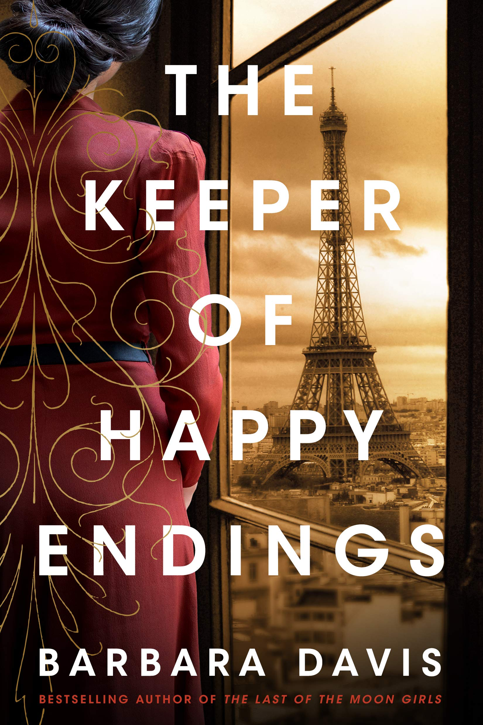 Cover image of The Keeper of Happy Endings by Barbara Davis