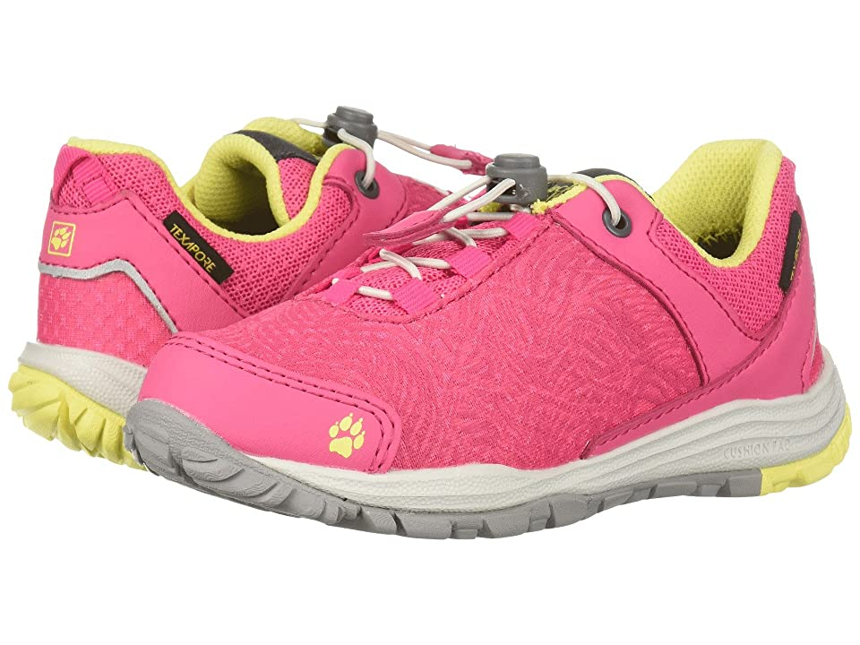 Jack Wolfskin Kids Portland Texapore Low (Toddler/Little Kid/Big Kid) (Tropic Pink) Girls Shoes