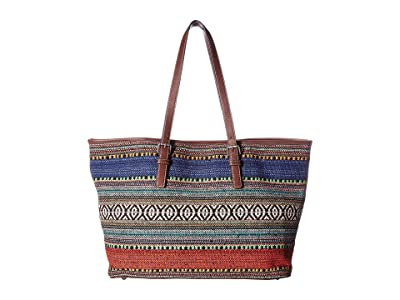 M&F Western Savannah Conceal Carry Tote (Serape/Brown) Handbags