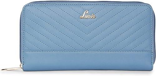 Halley XL Zip Around Women s Wallet P Blue