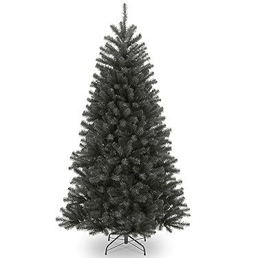 Árbol de Navidad artificial de National Tree Company | Incluye soporte | North Valley Black Spruce – 6.5 pies