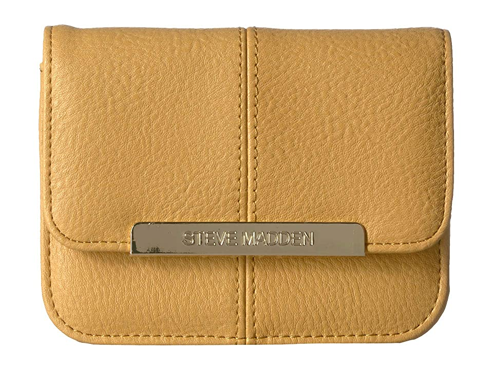 24577cd467 Steve Madden Accordion Wallet (Mustard) Wallet Handbags