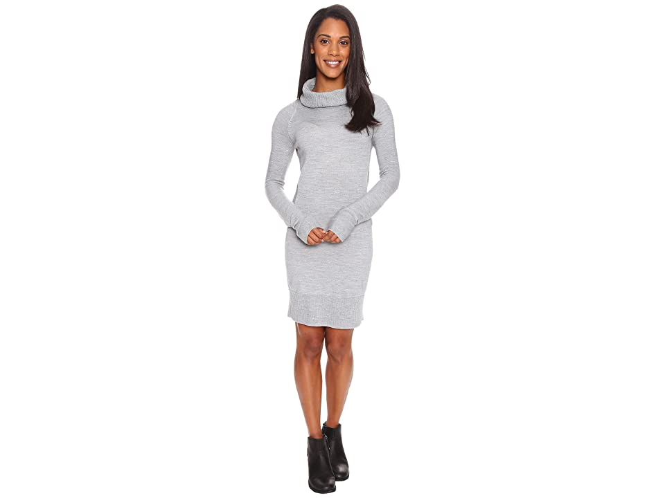 Smartwool Granite Falls Sweater Dress (Silver Gray Heather) Women