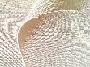 布人倶楽部 綿100% 8号 帆布 2199 92cm幅 (ネップ残しの生成り, 2m)