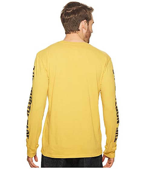 camiseta querida North de Face larga Camiseta The Yellow muy de una algodón ¿Has Olivenite oído manga 4qBOxzdxn