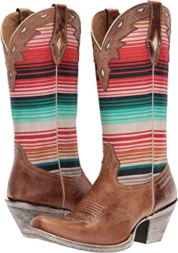 Crackled Tan/Southwestern Serape