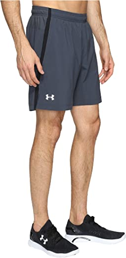UA Launch Stretch Woven 2-in-1 Shorts