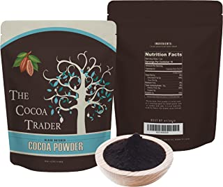 Black Cocoa Powder for Baking- All Natural Alkalized Unsweetened Cocoa for Coloring Agent in Baked Goods - Dutch Processed...