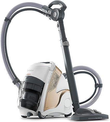 Oferta amazon: Polti Unico MCV85_Total Clean & Turbo Aspirador multifunción 3 en 1, aspiración y vapor, 6 bares, 2200 W, 0.8 Litros, 72 Decibeles, Plástico, Metal, Crem y blanco           [Clase de eficiencia energética A]