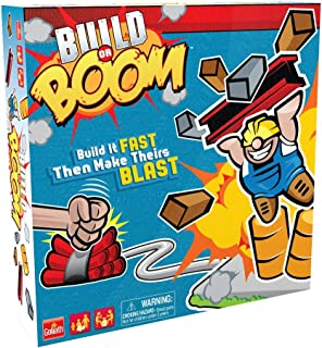 Goliath Build or Boom Game - Family Fun Building Game - STEM