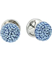 Marc Jacobs - Pave Circle Studs Earrings