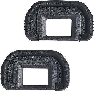 Bestshoot [2 Pack] EF Viewfinder Eyepiece Eyecup Eye Cup Rubbe for Canon EOS 1100D 600D 550D 500D 450D 400D 350D 300D T6s ...
