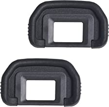 Bestshoot [2 Pack] EF Viewfinder Eyepiece Eyecup Eye Cup Rubbe for Canon EOS 1100D 600D 550D 500D 450D 400D 350D 300D T6s T6i T6 T5i T5 T4i T3i T3 T2i XTi XSi XS DSLR Cameras