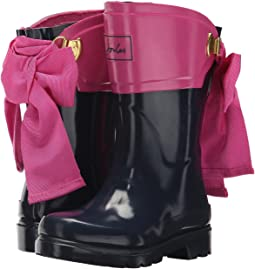 Joules Kids - Bow Back Welly Rain Boot (Toddler/Little Kid/Big Kid)