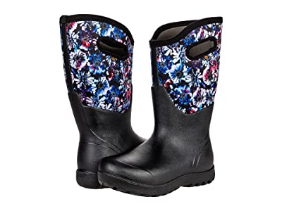 Bogs Neo-Classic Real Flower Wide Calf