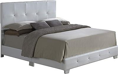 Amazon Com Nexera 346003 Queen Size Platform Bed White