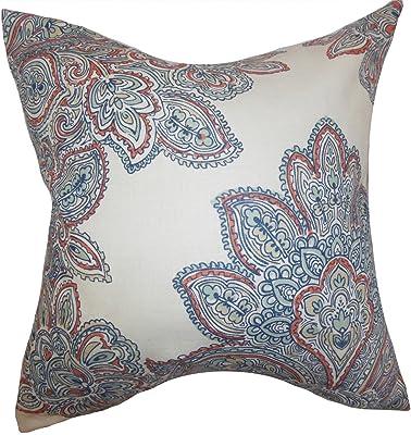 Amazon.com: Stylo Culture Cotton Decorative Cushion Cover ...
