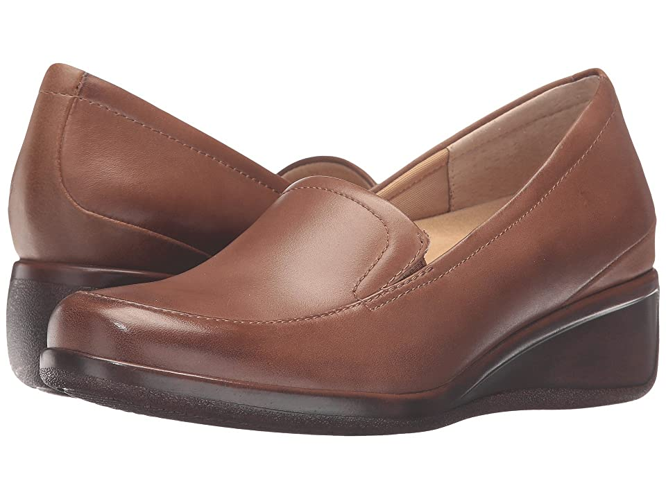 Trotters Marche (Cognac Tumbled Leather) Women