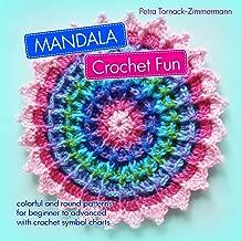 MANDALA Crochet Fun: colorful and round crochet patterns