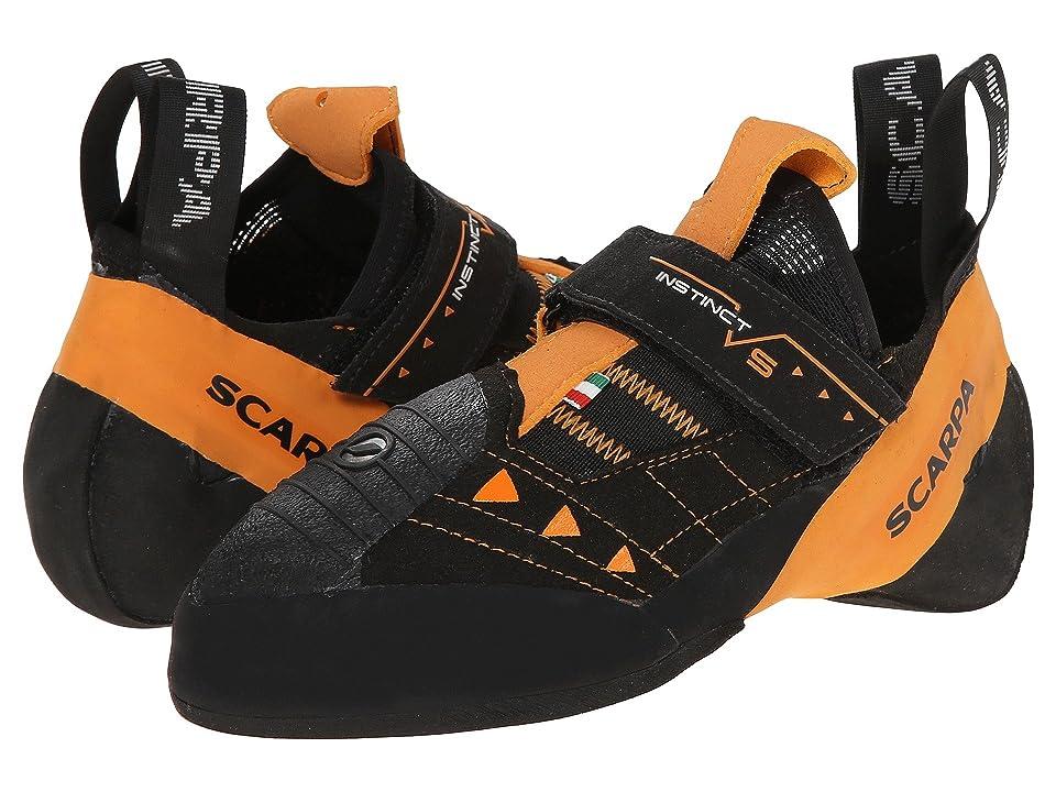Scarpa Instinct VS (Black/Orange) Athletic Shoes