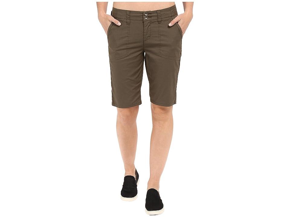 Toad&Co Viatrix Shorts 11 (Dark Moss) Women