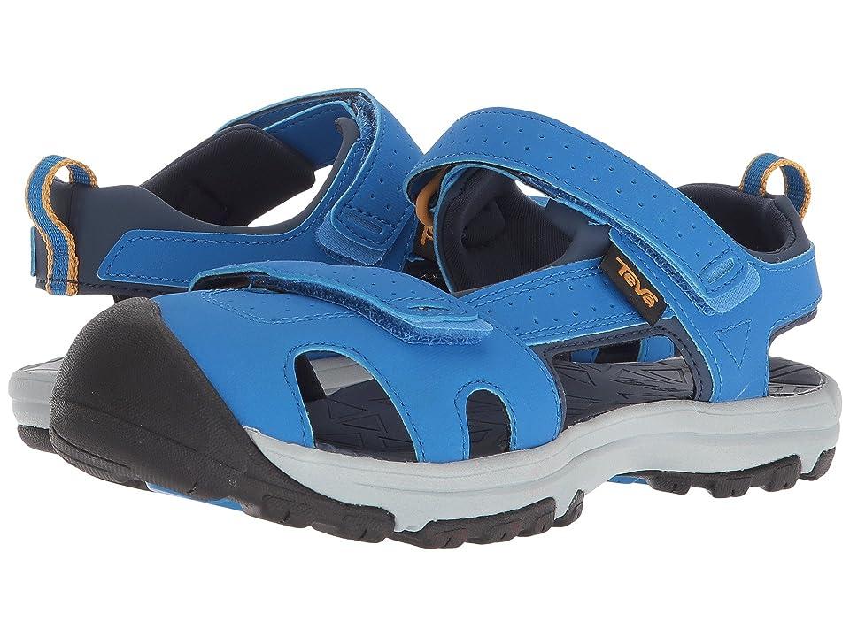 Teva Kids Hurricane Toe Pro (Little Kid) (Dazzling Blue) Boys Shoes