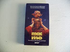 Mac and Me Out of This World and Into Your Heart Vhs Tape