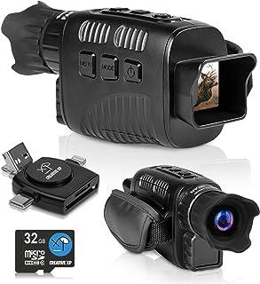 CREATIVE XP 2021 Digital Night Vision Monocular for 100% Darkness - Travel Infrared Monoculars Save Photos & Videos - IR H...