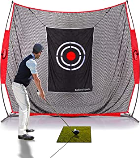 GALILEO Golf Practice Net Golf Hitting Nets Driving Range for Indoor Outdoor Golf Training Aids with Target and Carry Bag