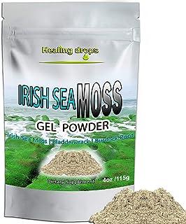 Irish Sea Moss Powder for Sea Moss Gel Gummies and Sea Moss Capsules Production - Wildcrafted Sun-Dried Bladderwrack Burdo...