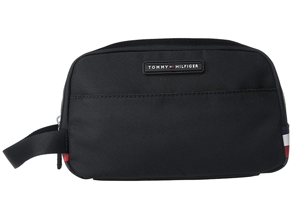Tommy Hilfiger CS Thompson Solid Cordura Nylon 1 (Black) Wallet