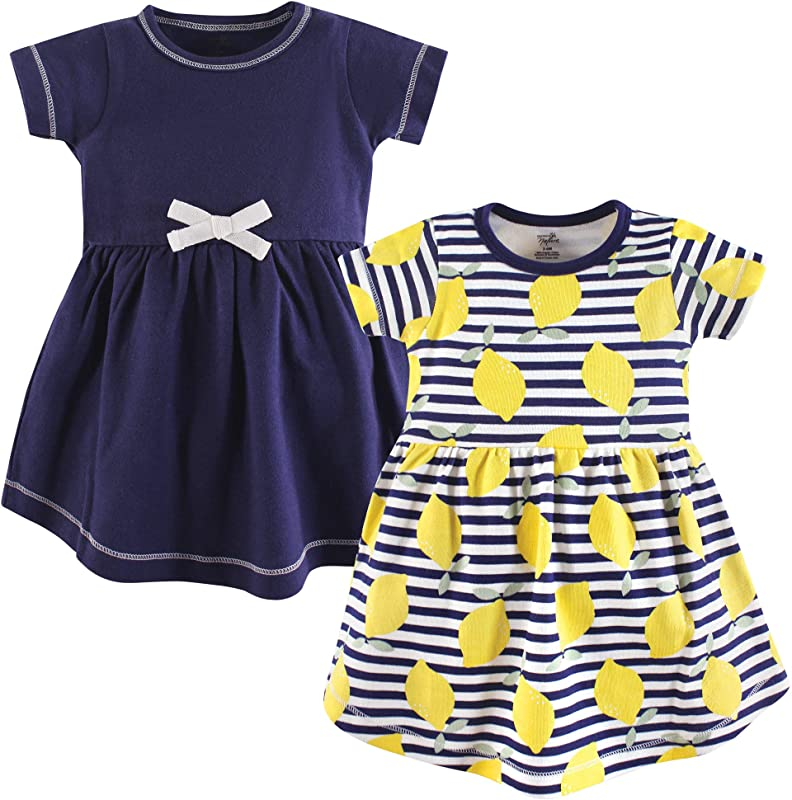 Touched By Nature Girls Baby Kids Youth Organic Cotton Dresses