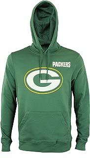 NFL Men's Intimidating VI Pullover Long Sleeve Fleece Hoodie, Team Options