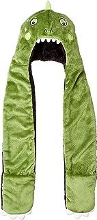 [accsa] 带帽围巾 恐龙 * 带爪子 围巾 儿童 男孩用 6948771918756 US 7-13岁 (FREE 尺码)