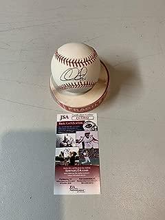 Chase Utley Autograph Autographed Signed Memorabilia Official Major League Baseball OMLB JSA