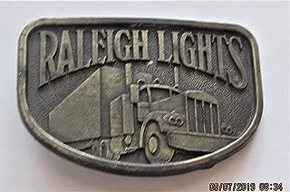 raleigh lights belt buckle