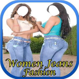 Women Jeans Wear Fashion Suit