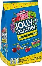 Jolly Rancher Halloween Candy Assortment, Sticks, Lollipops, Hard Candy, 46 Oz